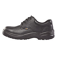 Site Coal Black Safety shoes, Size 6