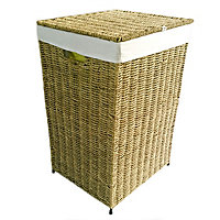 Nature Natural Laundry bin (H)58cm (W)38cm