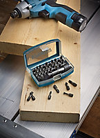 Erbauer Mixed Screwdriver bits, Pack of 32