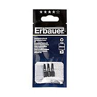 Erbauer TX20 Impact Screwdriver bits 25mm, Pack of 3