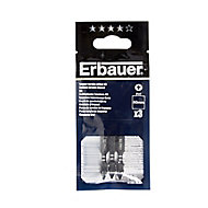 Erbauer PH1 Impact Screwdriver bits 50mm, Pack of 3
