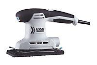 Mac Allister 200W 240V Corded 1/3 sheet sander MSSS200