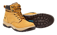 RigourBrownSafety boots, Size 11