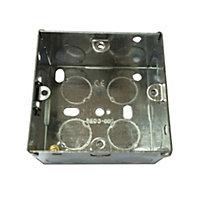 B&Q 35mm Metal Single Box of 1
