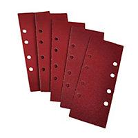 PTX 180 grit Sanding sheet (L)185mm (W)93mm, Pack of 5
