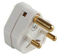 B&Q 2A White Plug