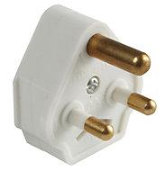 B&Q 5A White Plug
