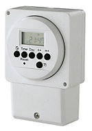 7 day Digital immersion heater timer
