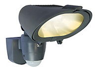 Blooma Quanta Graphite 230W Mains powered External PIR flood light