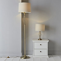 Colours Eliza Swirl Halogen Floor lamp base