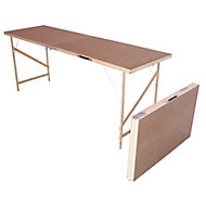 Foldable Pasting table, (L)1780mm (W)560mm (H)740mm