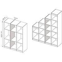 Form Perkin Matt grey oak effect Storage Partition panel (L)1592mm (W)480mm