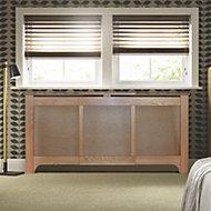 Mayfair Medium - large Oak veneer Adjustable Radiator cover