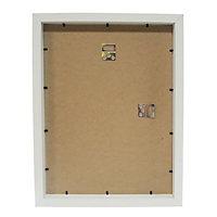 White Single Picture frame (H)40cm x (W)30cm