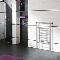 Blyss Traditional 198W Electric Towel warmer (H)914mm (W)534mm