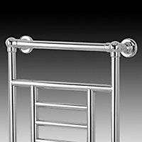 Blyss Traditional 198W Electric Towel warmer (H)914mm (W)534mm