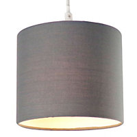 Colours Briony Anthracite Light shade (D)150mm