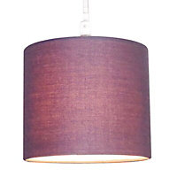 Colours Briony Blueberry Light shade (D)150mm