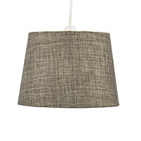 Colours Sadler mini Brown Metallic effect Light shade (D)210mm