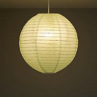 Colours Abiola Duck egg Ball Light shade (D)400mm