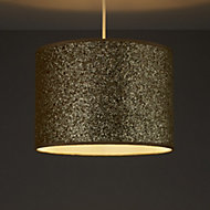Colours Cirocha Glitter Gold effect Light shade (D)280mm