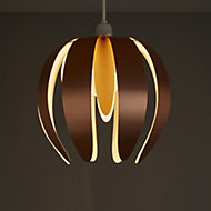 Colours Canna Copper effect Light shade (D)270mm