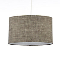 Colours Sadler Brown Metallic effect Light shade (D)300mm