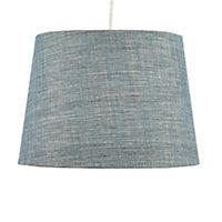 Colours Sadler Blue Metallic effect Light shade (D)280mm