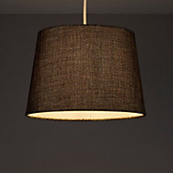 Colours Sadler Brown Metallic effect Light shade (D)280mm