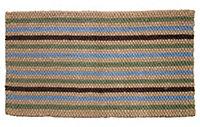 Colours Ambarella Woven stripe Multicolour Door mat (L)0.75m (W)0.45m