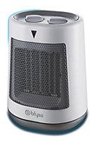 Blyss Electric 2000W White & black Panel heater