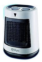 Blyss Electric 2000W White & black PTC Heater