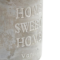 Home sweet home concrete Vanilla Jar candle