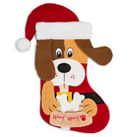 Christmas Puppy Stocking