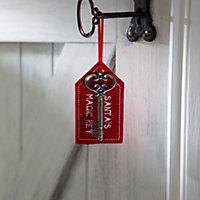 Red Santa Tree decoration
