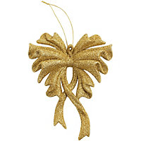 Glitter Gold effect Tree decoration
