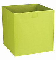 Mixxit Green 29.7L Non woven fabric & polyester Foldable Storage basket