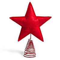 Felt Red Star Tree topper