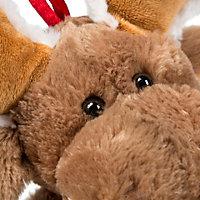 Battery operated Singing Reindeer Stocking