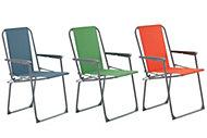 Curacao Multicolour Metal Picnic chair