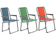 Curacao Multicolour Metal Picnic Chair