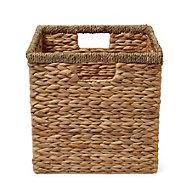 Mixxit Water hyacinth & seagrass Storage basket