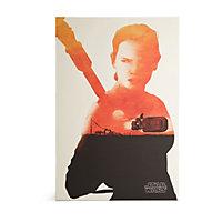 Star Wars Rey Beige Canvas art (H)900mm (W)600mm