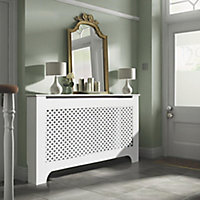 Richmond Large White Radiator cover