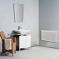 Chunky 2 Column radiator, White (W)1210mm (H)602mm