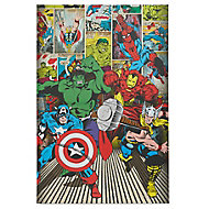 Marvel Avenger Multicolour Canvas art (H)900mm (W)600mm