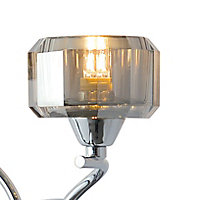 Allyn Chrome effect Double Wall light