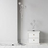 Lopez Chrome effect Floor lamp