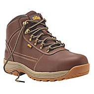 Site Amethyst Men's Brown Safety boots, Size 9