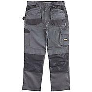 "Site Jackal Grey/Black Men's Trousers, W30"" L34"""